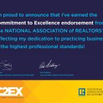 National Association of REALTORS – Commitment to Excellence